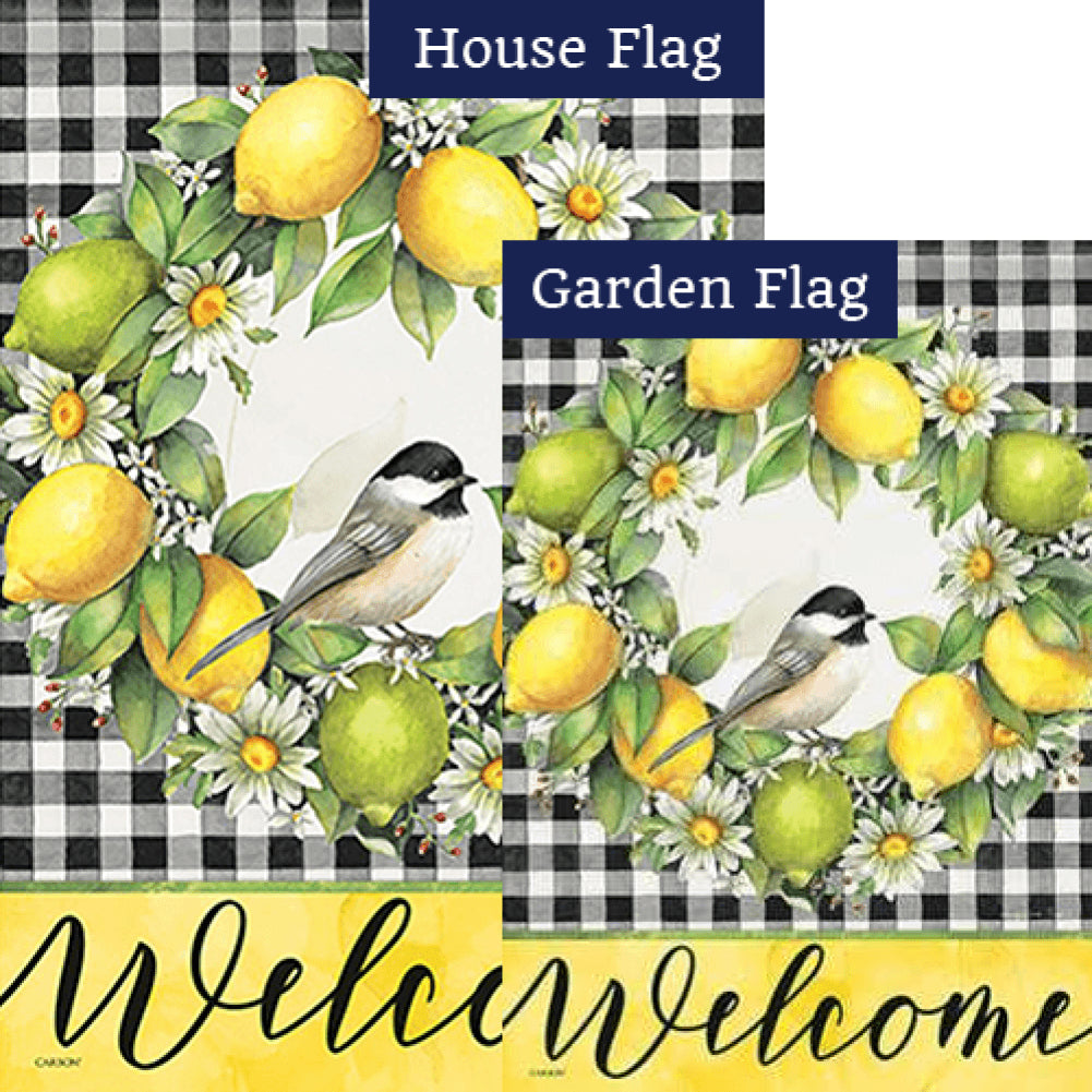 Grove Song Double Sided Flags Set (2 Pieces)