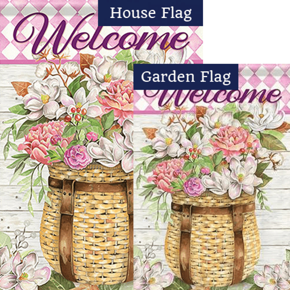 Adirondack Basket Double Sided Flags Set (2 Pieces)