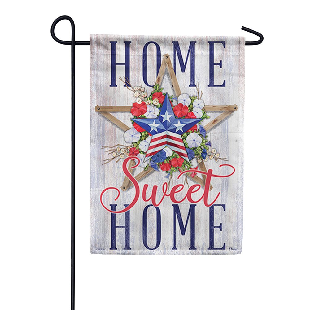 Patriotic Layers Double Sided Garden Flag
