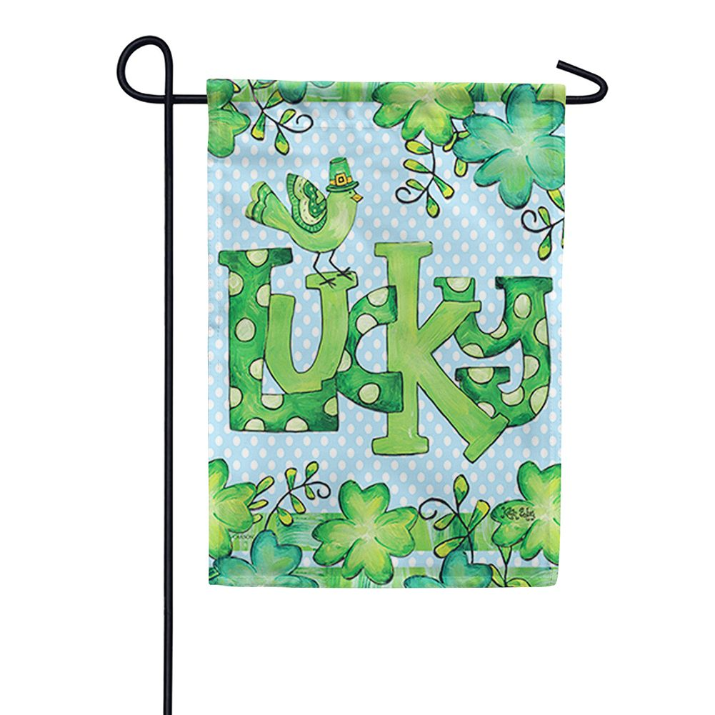 Feeling Lucky Double Sided Garden Flag