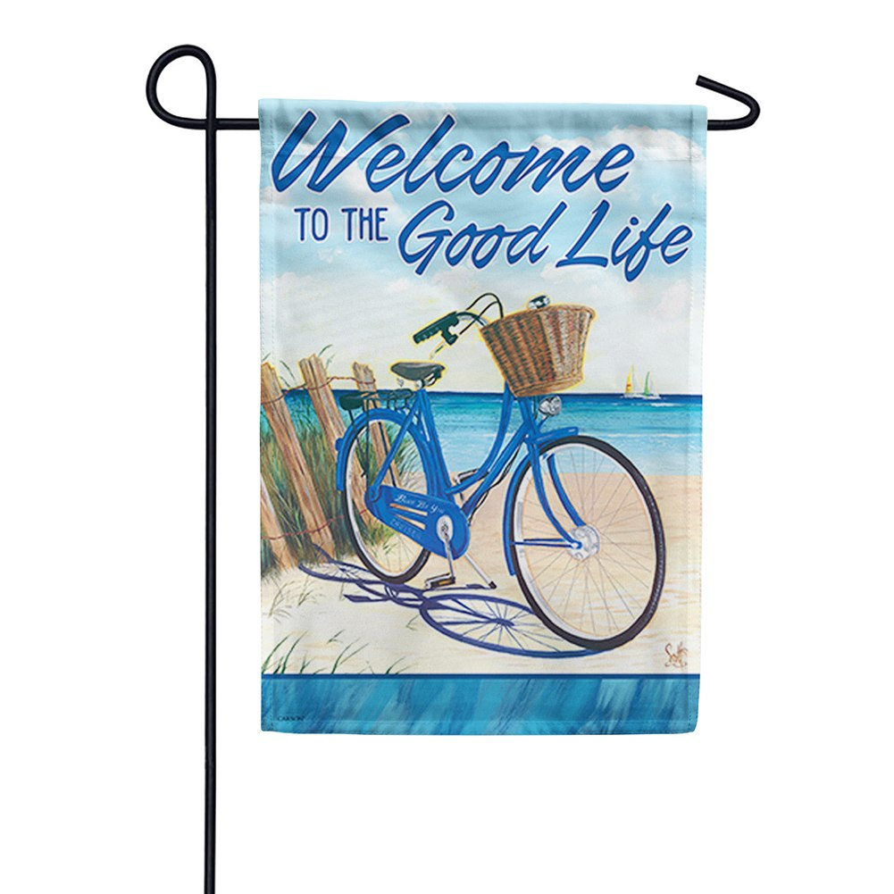 Blue By You Double Sided Garden Flag