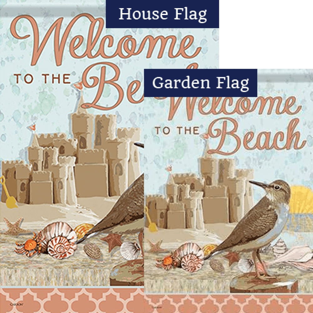 Coastal Dreams Double Sided Flags Set (2 Pieces)