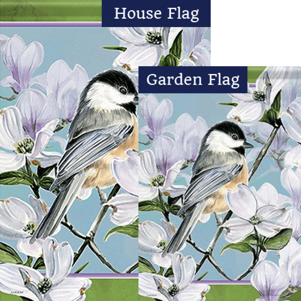 Little Bird Double Sided Flags Set (2 Pieces)