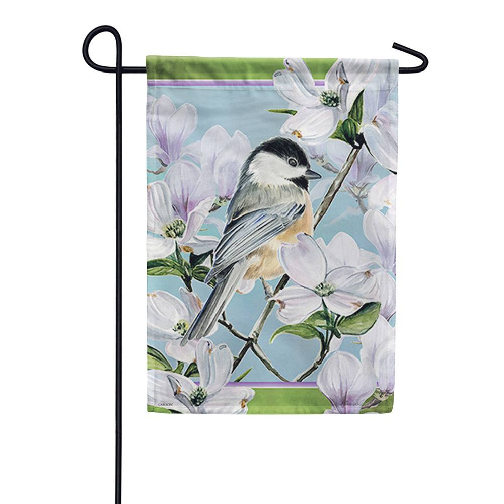 Little Bird Double Sided Garden Flag