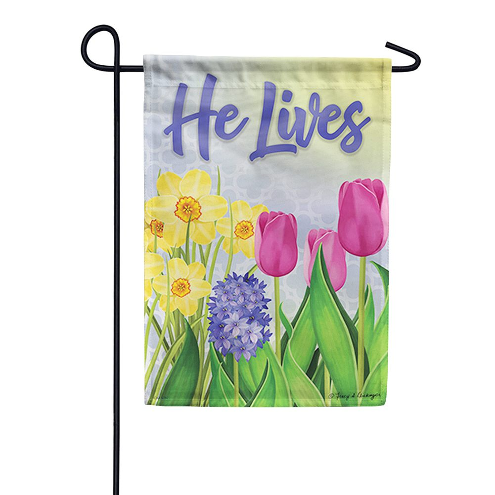 Glory In The Morning Double Sided Garden Flag