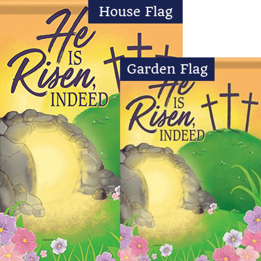 Empty Tomb Double Sided Flags Set (2 Pieces)