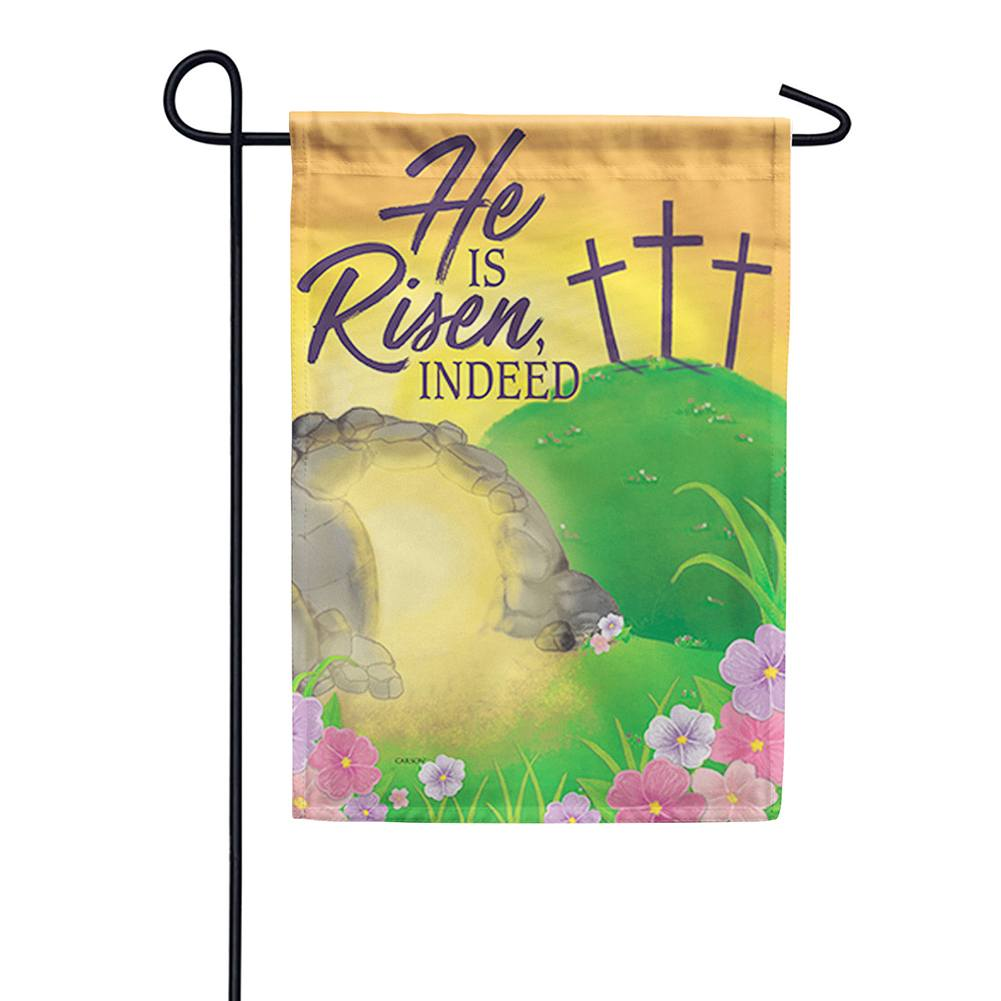 Empty Tomb Double Sided Garden Flag