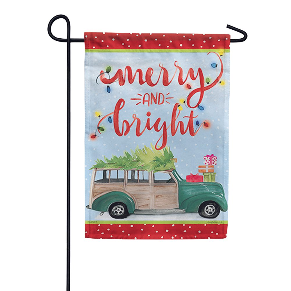 Holiday Road Trip Garden Flag