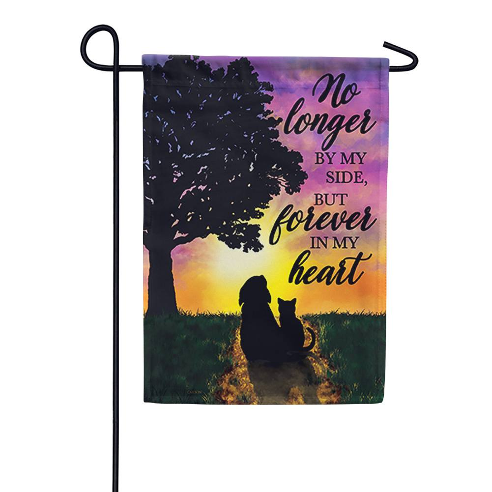 Forever In My Heart Garden Flag