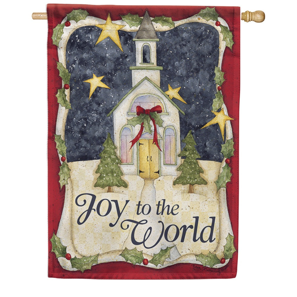 Church Of Joy Double Sided House Flag