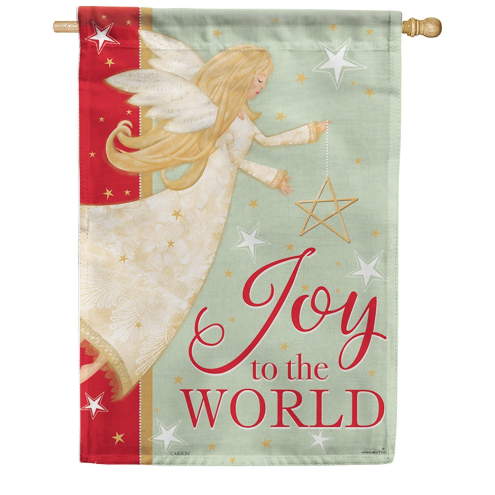 Angel Joy Double Sided House Flag