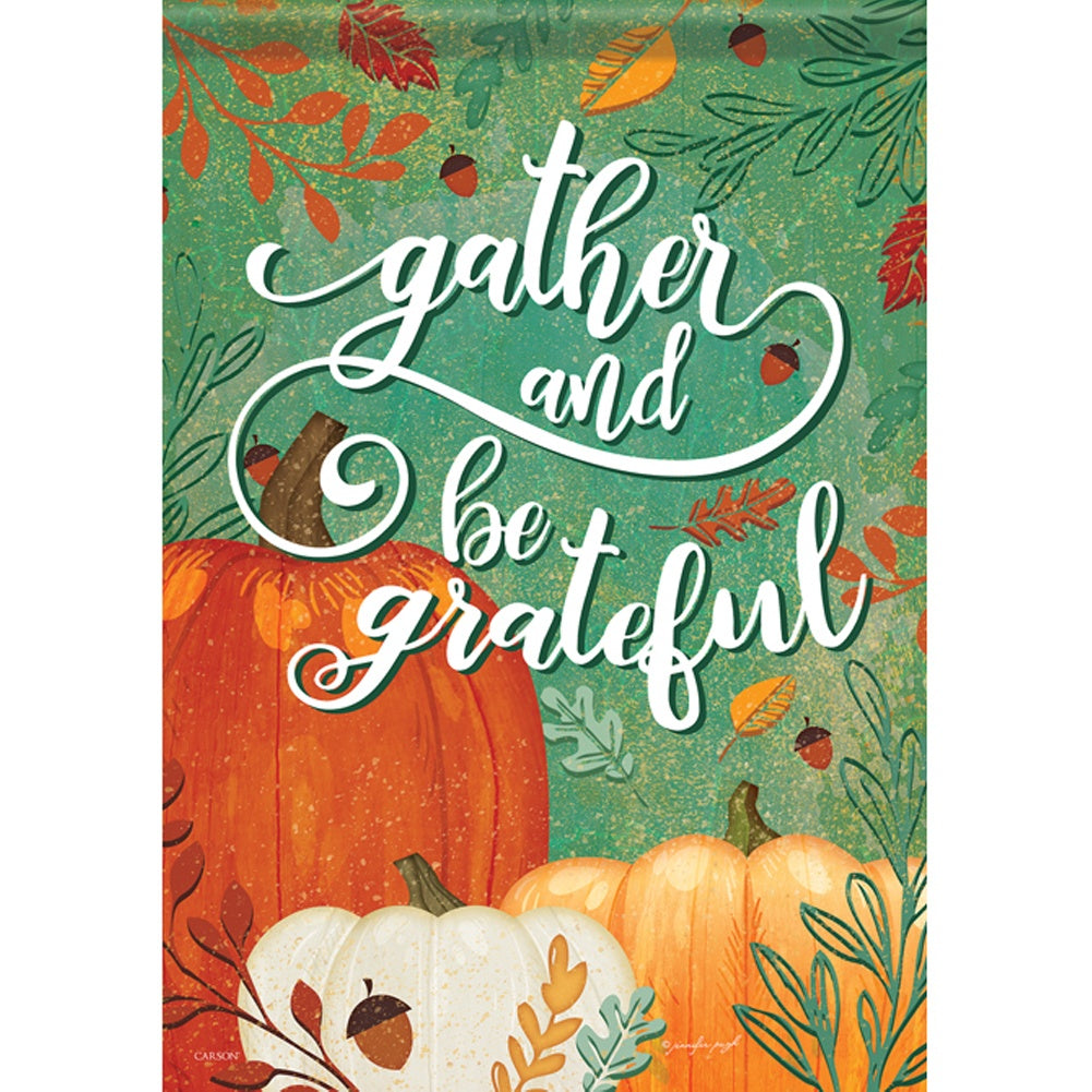 Gather & Be Grateful House Flag