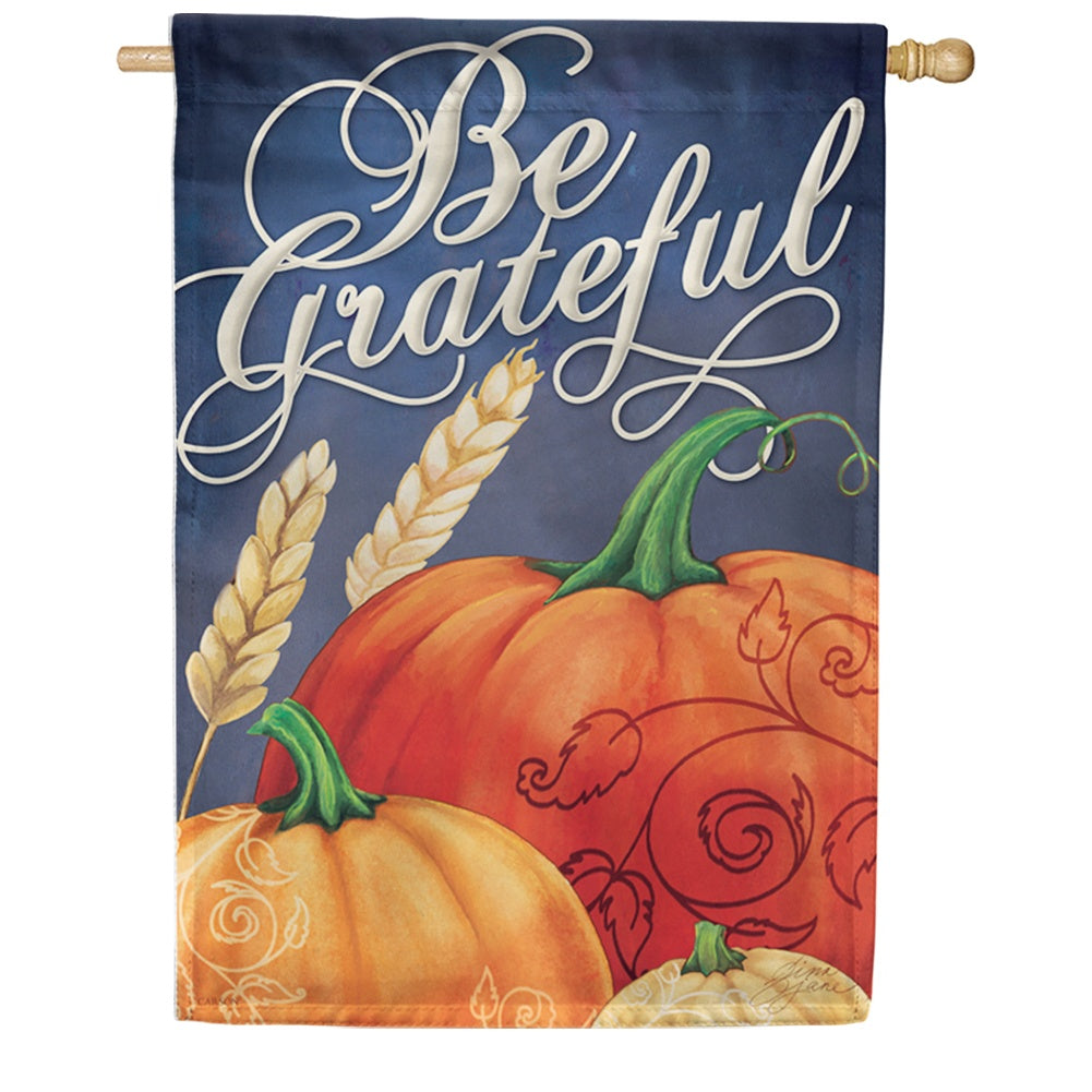 Grateful Fall Double Sided House Flag