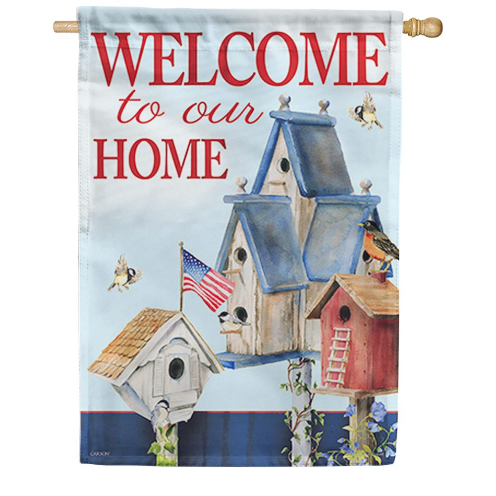American Home Double Sided House Flag