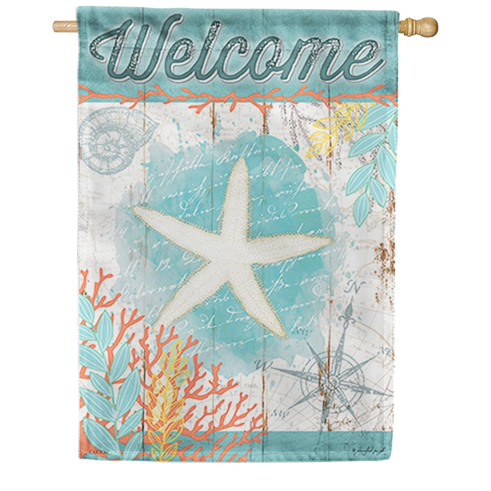 Nautical Navigation Double Sided House Flag