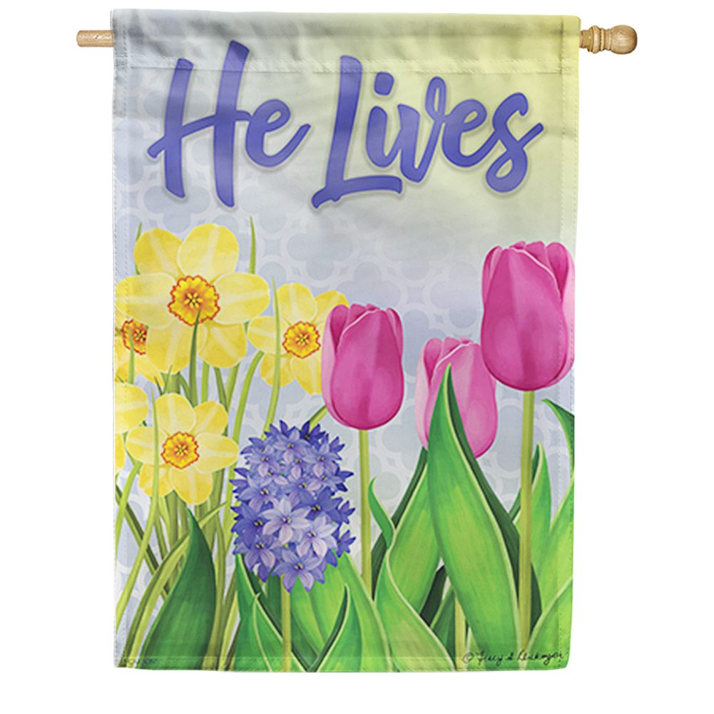 Glory In The Morning Double Sided House Flag