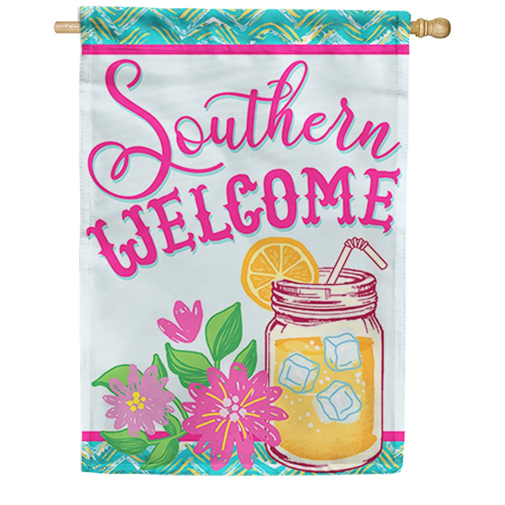 Southern Sweet Tea Double Sided House Flag