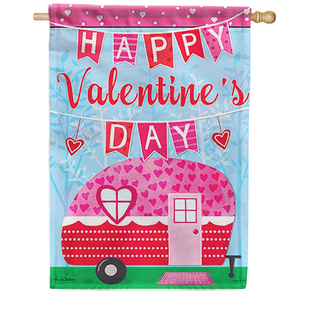 Sweet Camper Dura Soft Double Sided House Flag