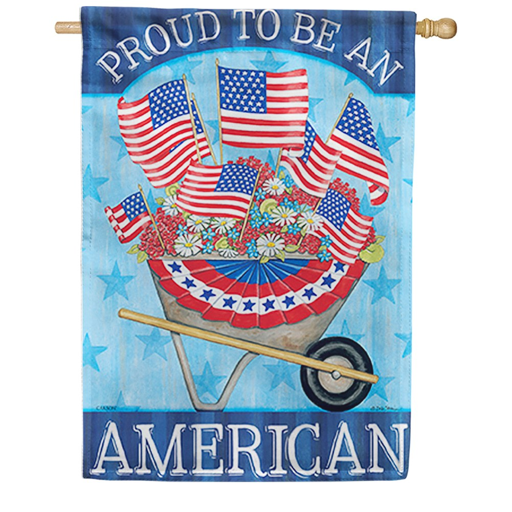 Patriotism Dura Soft Double Sided House Flag