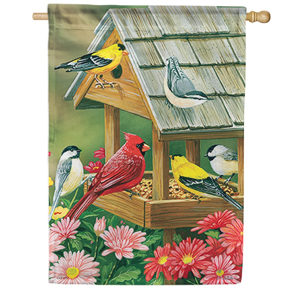 Feeder Meeting Dura Soft Double Sided House Flag