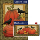 Pumpkin Patch Crows Flag Mailwrap Set (2 Pieces)