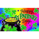 Pot Of Gold Happy St. Patrick's Doormat
