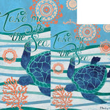 Take Me To The Sea Double Sided Flags Set (2 Pieces)