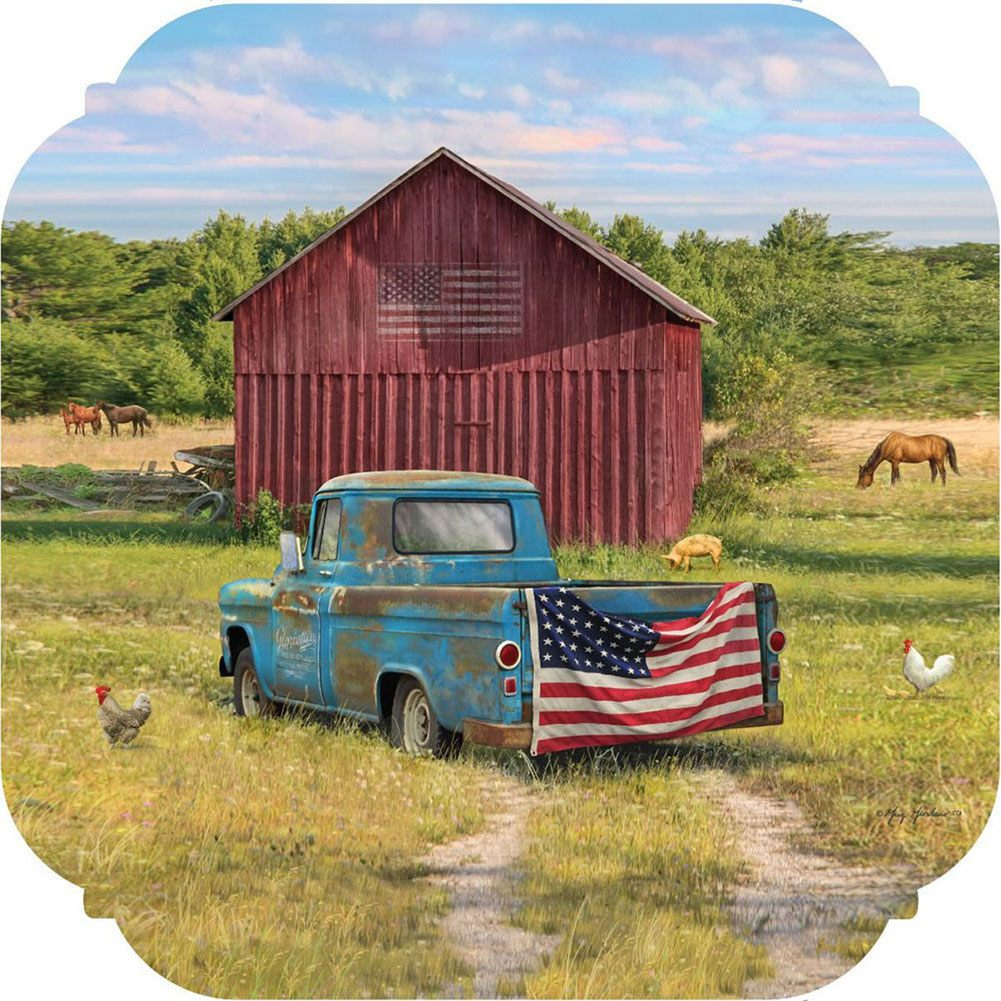 Summer Truck American PVC Hang Around