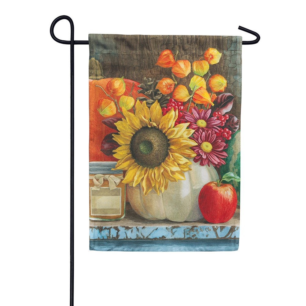 Autumn Still Life Garden Flag