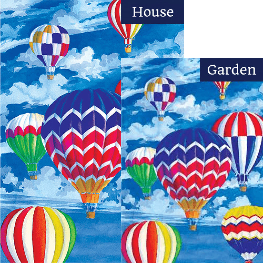 Balloon Fest Flags Set (2 Pieces)