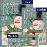 Let it Snowman Double Sided Yard Makeover Set (3 Pieces)