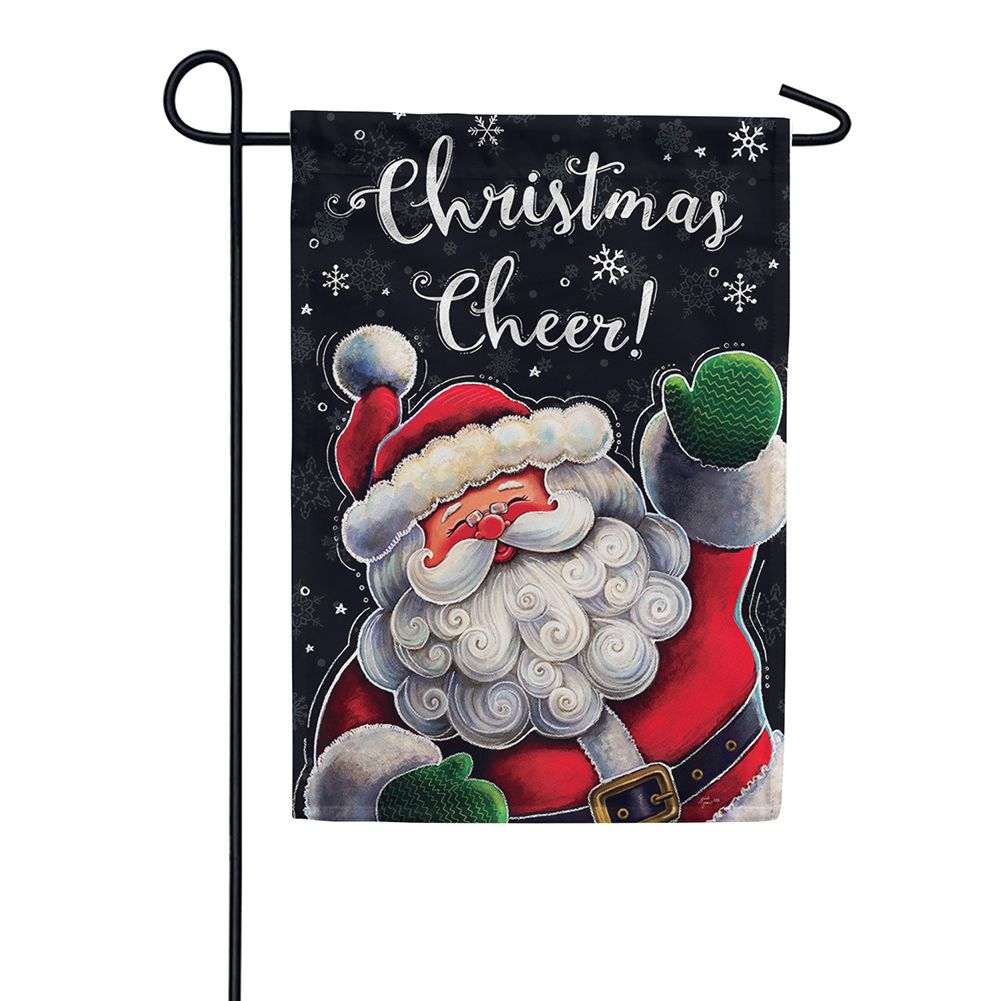 Christmas Cheer Double Sided Garden Flag