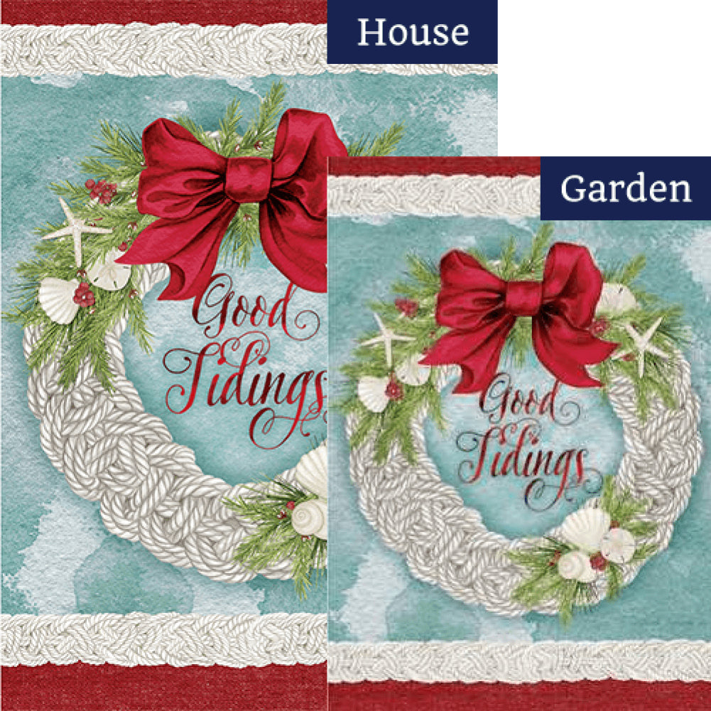 Good Tidings Double Sided Flags Set (2 Pieces)