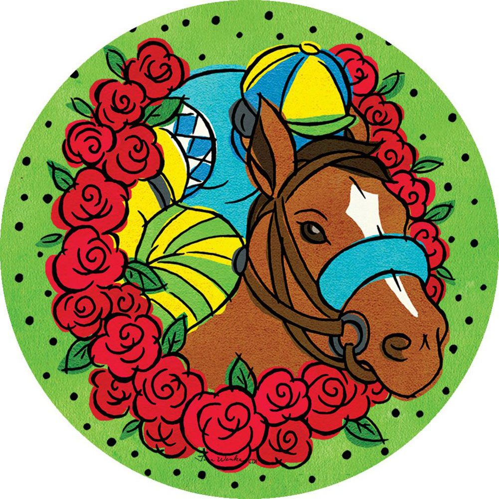 Derby Time Accent Magnet