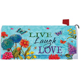Live, Laugh, Love Mailbox Cover