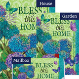 Bless This Home Floral Yard Makeover Set (3 Pieces)
