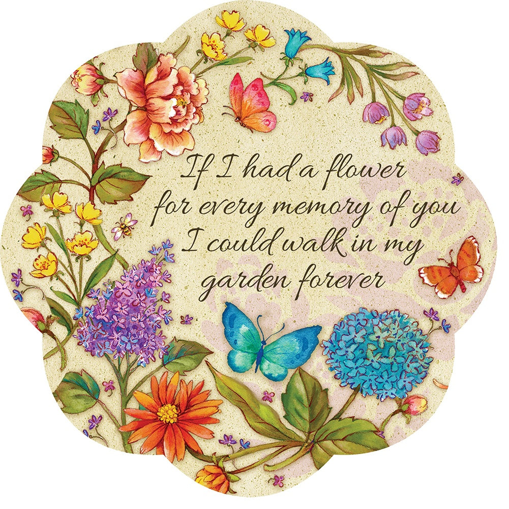 If I Had A Flower Stepping Stone