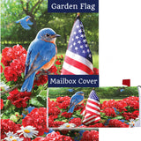 Bluebird Salute Flag Mailwrap Set (2 Pieces)