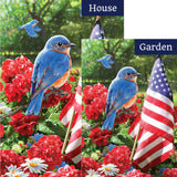 Bluebird Salute Flags Set (2 Pieces)