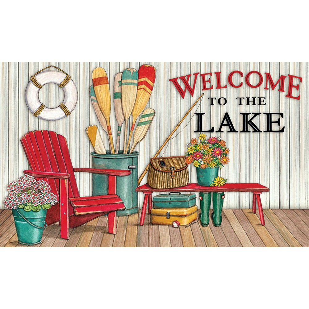 Welcome to the Lake Deck Doormat