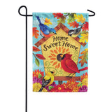 Fall Songbirds Double Sided Garden Flag