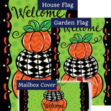 Pumpkin Stack Double Sided Yard Makeover Set (3 Pieces)