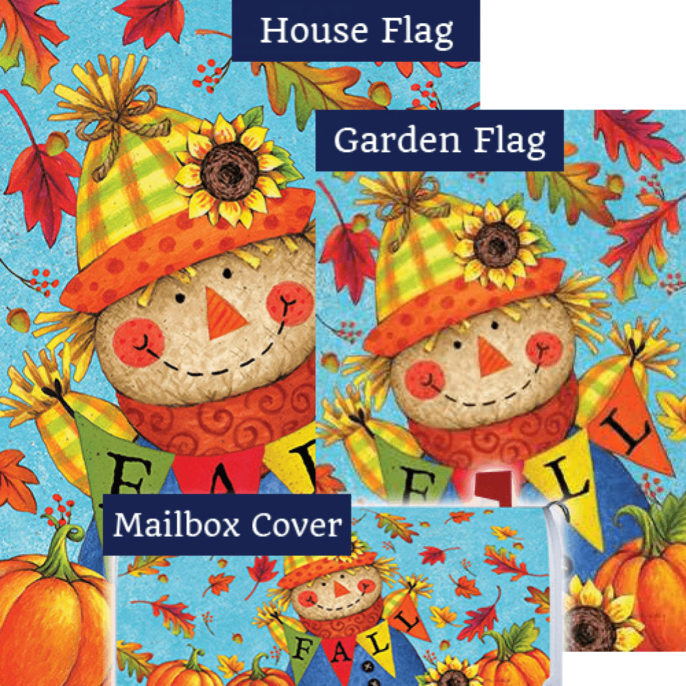 Fall Scarecrow Double Sided Yard Makeover Set (3 Pieces)
