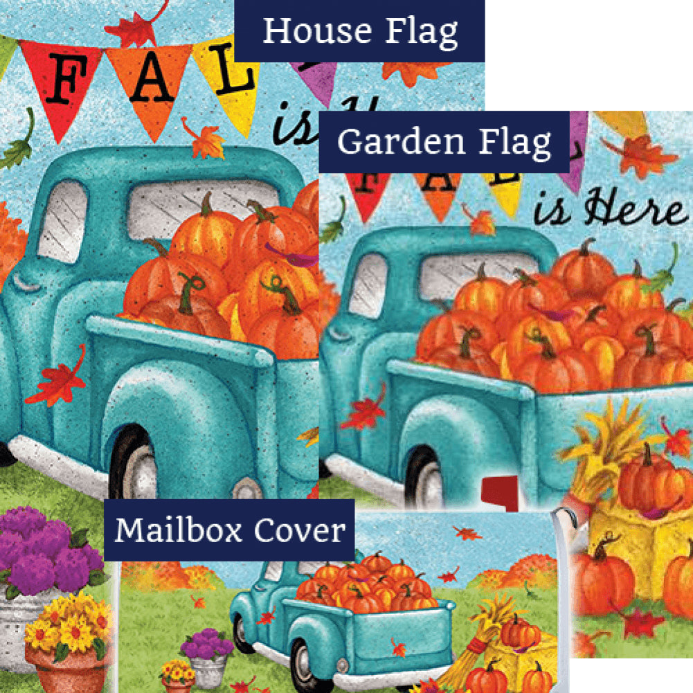 Fall Is Here Double Sided Yard Makeover Set (3 Pieces)