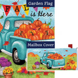 Fall Is Here Double Sided Flag Mailwrap Set (2 Pieces)