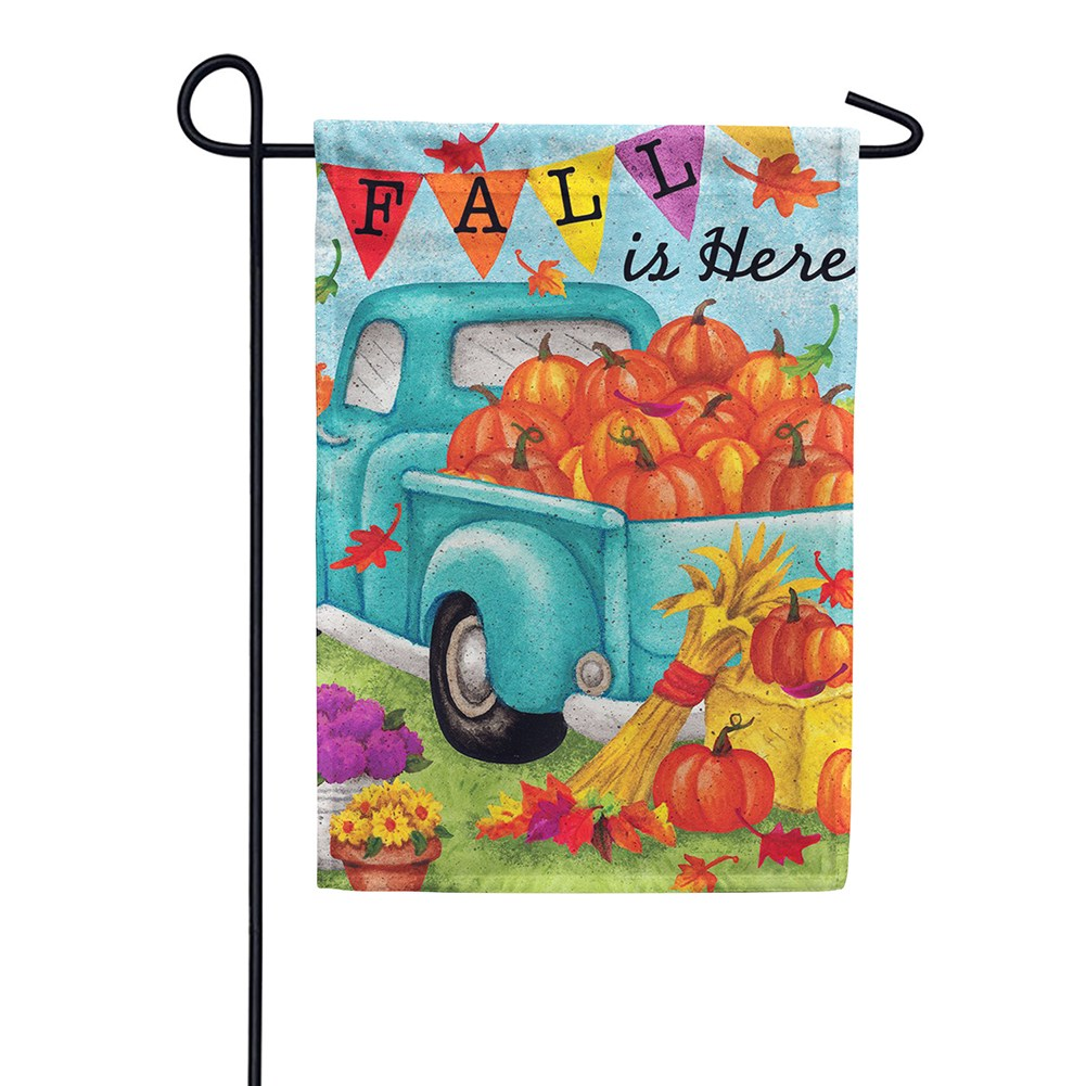 Fall Is Here Double Sided Garden Flag