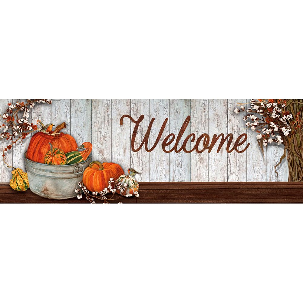 Pumpkins & Cotton Signature Sign