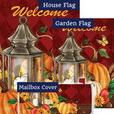 Pumpkin Lantern Double Sided Yard Makeover Set (3 Pieces)