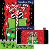 Gift Stack Double Sided Flag Mailwrap Set (2 Pieces)
