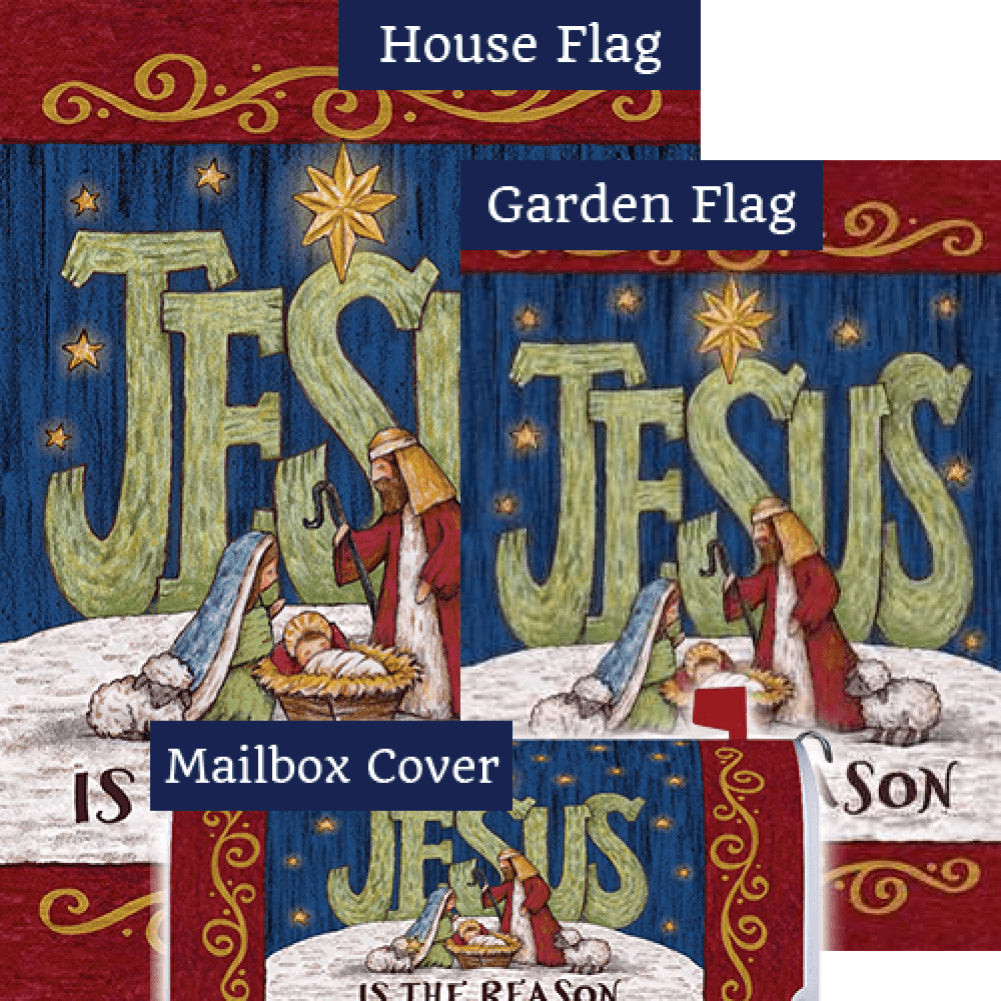 Jesus Is The Reason By Tina Wenke Yard Makeover Set (3 Pieces)